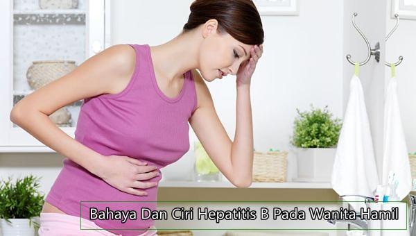 Ciri Ciri Hepatitis B Pada Ibu Hamil
