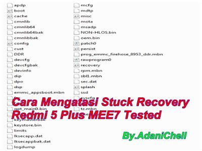 Cara Mengatasi Stuck Recovery Redmi 5 Plus MEE7 Tested
