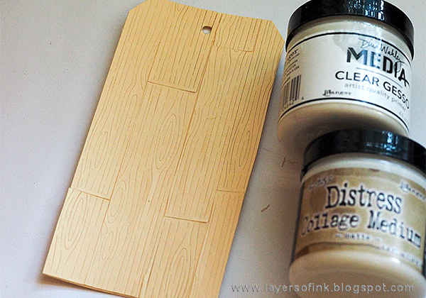 Layers of ink - Wood plank background tutorial by Anna-Karin Evaldsson