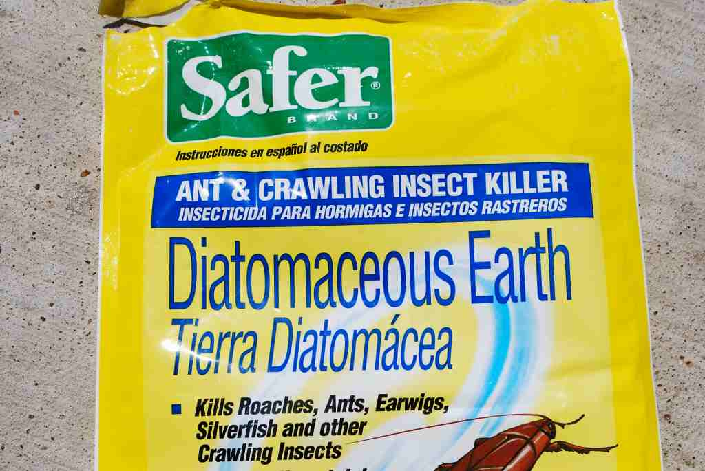 Step 1 Diatomaceous Earth A Natural Product Look Low Down On The Shelves In Home Depot If You Re Ing It There