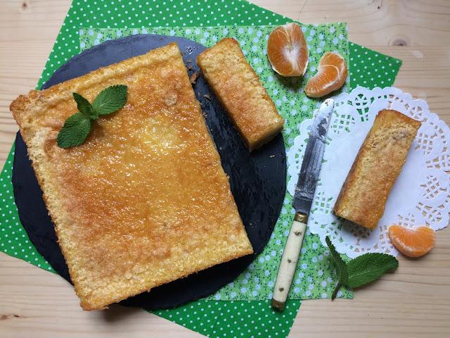 orange bars receta