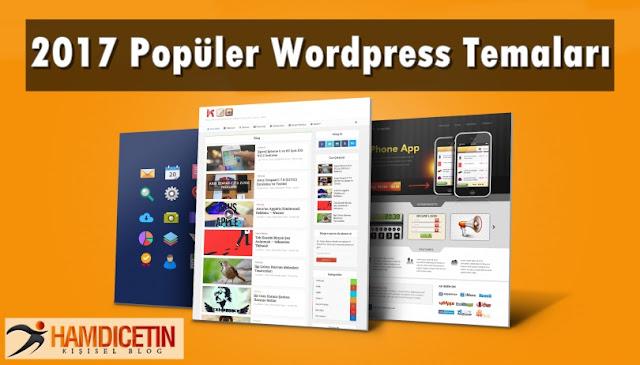 2017 Popüler Wordpress Temaları