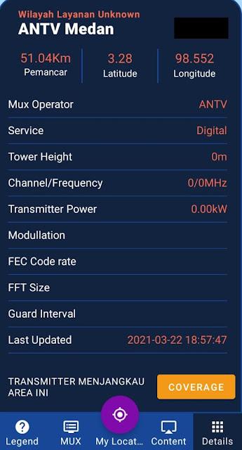 Cara Menentukan Posisi dan Mengukur Kekuatan Sinyal TV Digital Di Wilayah Anda Dengan Aplikasi Android