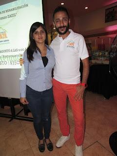 Sofía Sandoval y Jorge Carruelas.