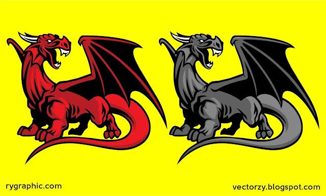 Free Download Red Dragon Mascot Vector 6024713 CorelDraw