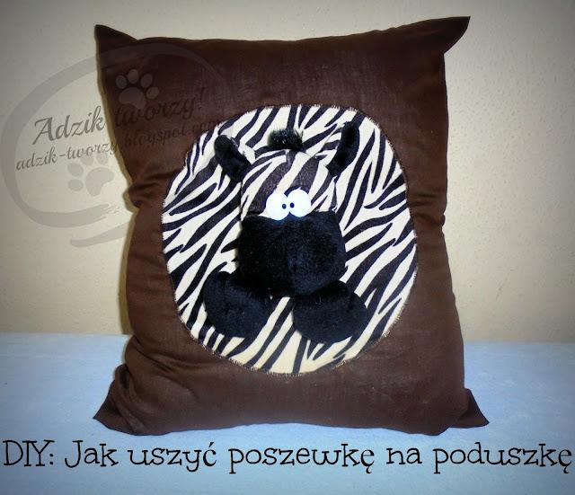 DIY: Jak uszyć poszewkę na poduszkę - bez guzików, bez zamków