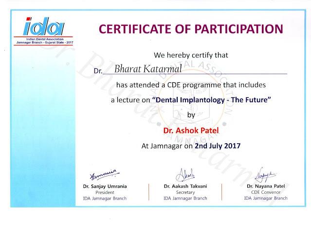 Dental Implantology The Future by Dr Ashok Patel