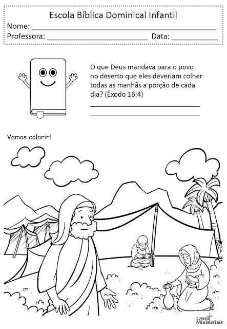 Atividades sobre Moisés