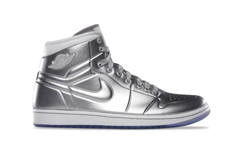 Air Jordan Silver Shoes 1985