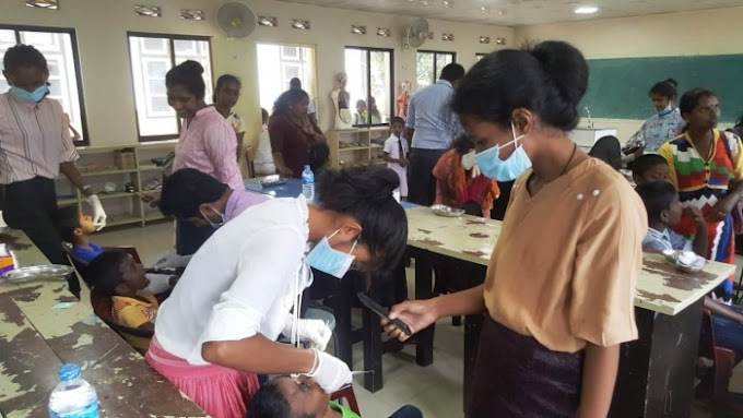 Medical and Dental Camp in Pussalawa - RC Kandy