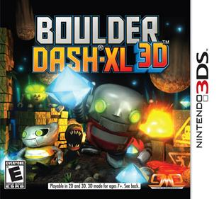 Rom Boulder Dash-XL 3D 3DS