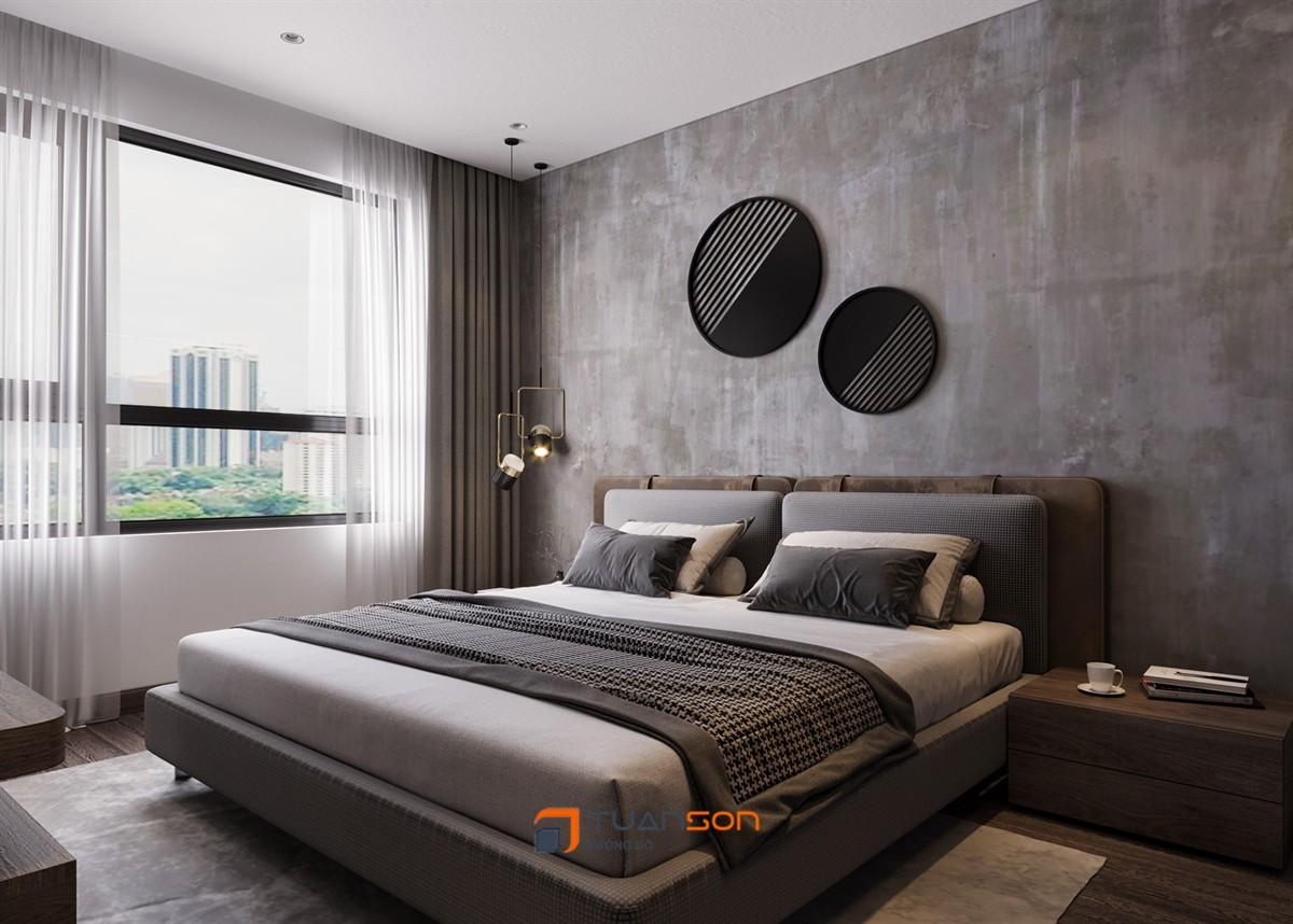 Thiết kế nội thất căn hộ 3 phòng ngủ (106m2) Vinhomes Ocean Park