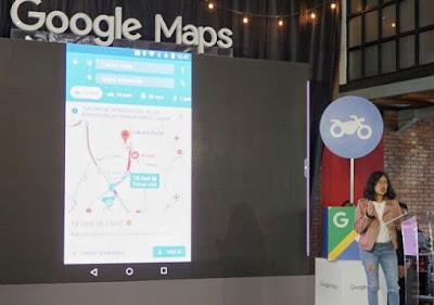 Fungsi Baru Google Maps, Penunjuk Arah Khusus Sepeda Motor