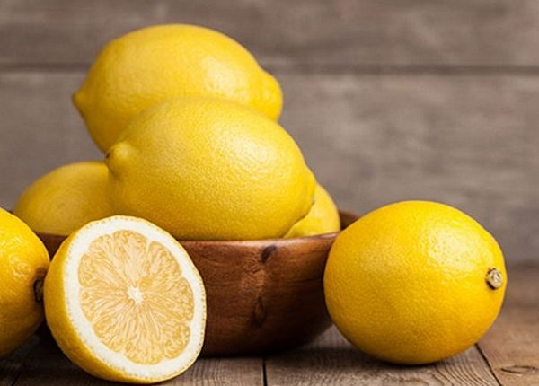 What is lemon damage to the face ?