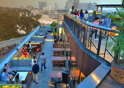 Lima Rooftop Bar Medan