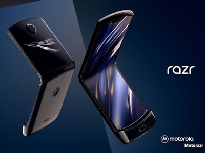 شاهد موتوروﻻ تكشف عن هاتفها المميز Motorola Razr
