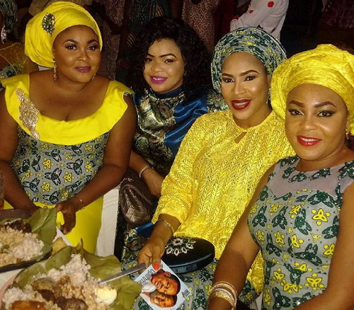 ofada rice odunlade adekola brother wedding