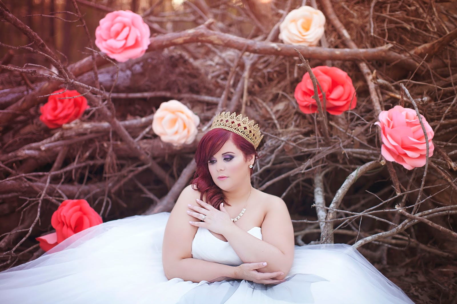Alice in Wonderland Bridal Shoot