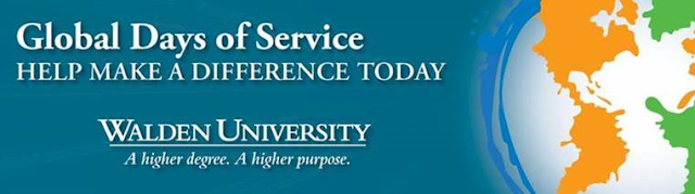 Walden University Global Days of Service: Help Make a Difference Today
