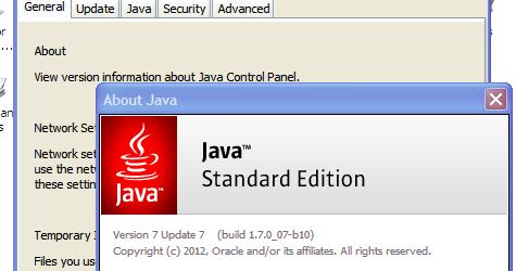🔥 Update Java runtime settings on Windows