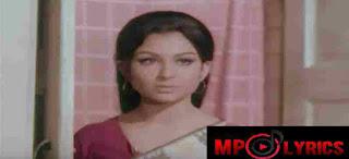 Zindagi Ka Safar Lyrics – Safar 1970 – Kishore Kumar