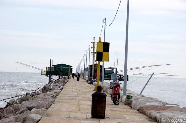 La diga degli Alberoni a Venezia