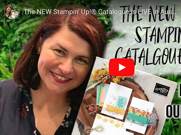 The NEW Stampin' Up!® Annual Catalogue is LIVE 🌟 🌟 🌟