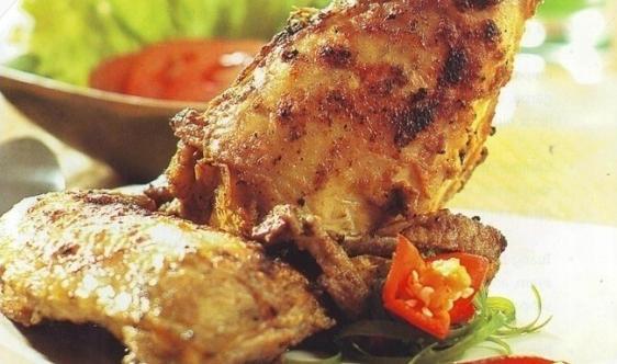 Ayam Bakar Bumbu Gulai