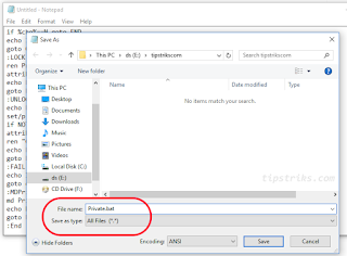[Hidden Folder] Cara Menyembunyikan Folder Tanpa Aplikasi Tambahan