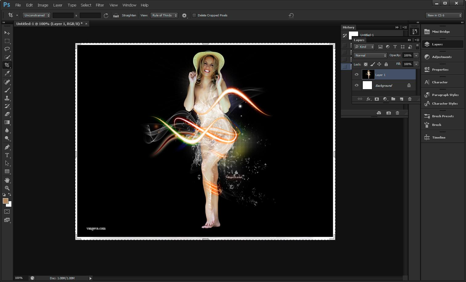 Adobe Photoshop CS6 New Features