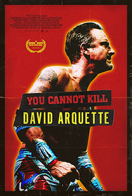You Cannot Kill David Arquette Movie Poster, SXSW Film Festival Selection, Documentary About David Arquette climbing back into wrestling, featuring David Arquette, Patricia Arquette, Courteney Cox, Ric Flair, Dallas Page, Jack Perry, Rj Skinner, Rosanna Arquette, Luke Perry, Kevin Nash, Richmond Arquette, Tyrus, Christina McLarty Arquette, Coco Arquette, Eric Bischoff