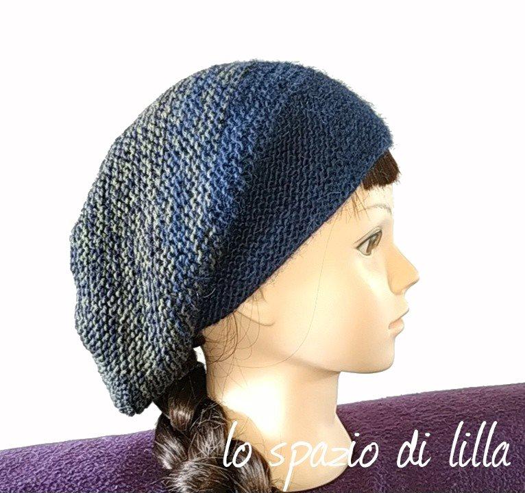 Cosa ne pensate di un cappellino lavorato completamente a legaccio  A me  l idea è piaciuta e non ci ho messo molto a realizzare il mio Rikke Hat  utilizzando ... 40692b33946a