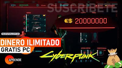 dinero ilimitado cyberpunk 2077