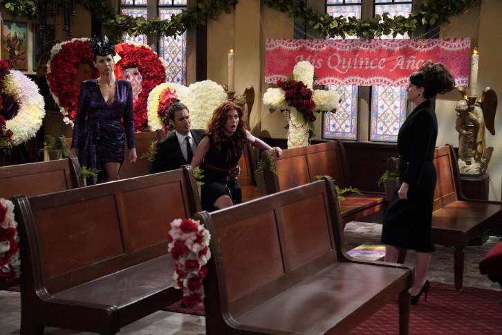 Will & Grace - Episode 9.06 - Rosario's Quinceanera (Fall Finale) - Promo, Sneak Peek, Promotional Photos + Press Release