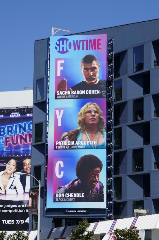 Showtime Emmy nominees FYC billboard