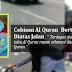 Cebisan Al Quran yang dikoyak Bertaburan Diatas Jalan Di Labis Johor