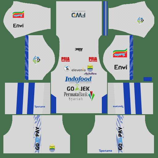 Kit DLS Persib Bandung Third
