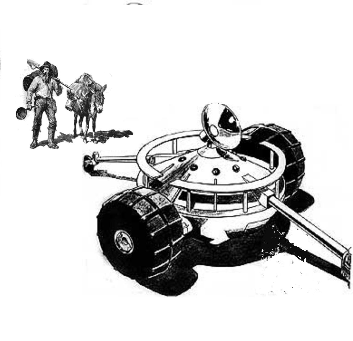MOONBASE CENTRAL: The Old Prospectors Early Summer Caption