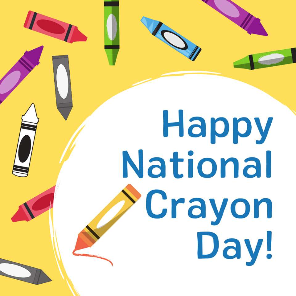 National Crayon Day Wishes Awesome Images, Pictures, Photos, Wallpapers
