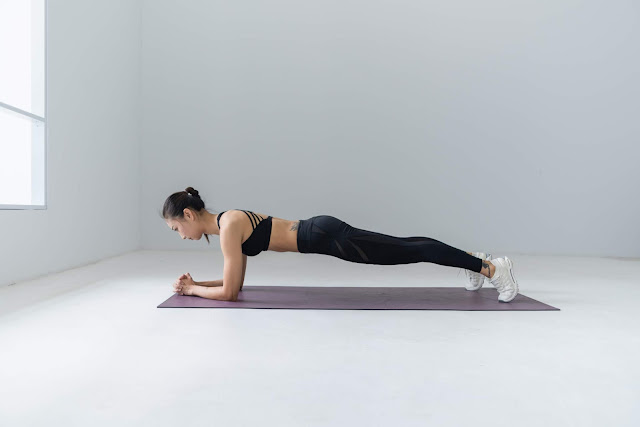 Ab workout at home