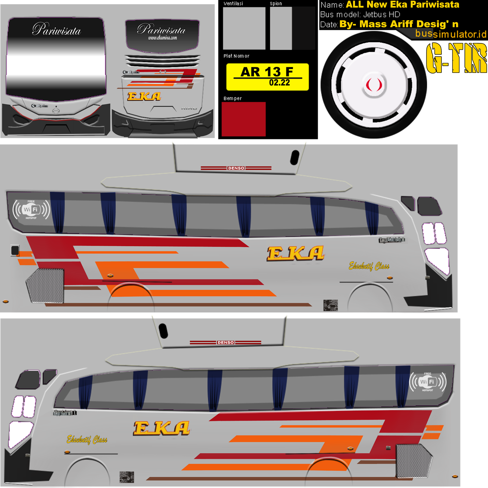 Livery Bus Shd Mira Infotiket Com