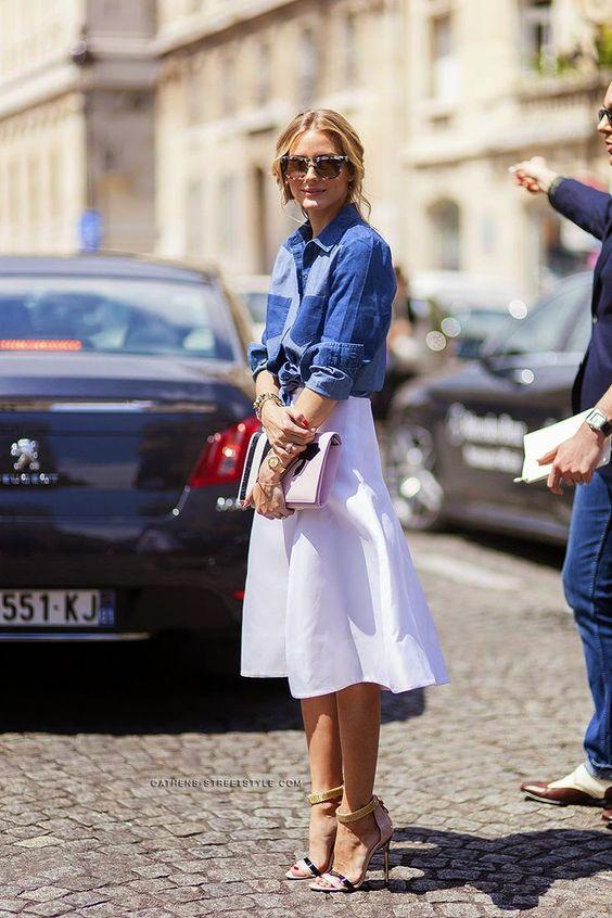 Fique linda como Olivia Palermo no seus looks da semana