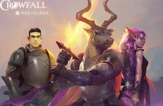 Клиентская игра Crowfall