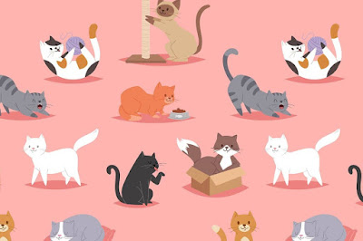 Figure: Let's start with an easy one – how many cats can you see?
