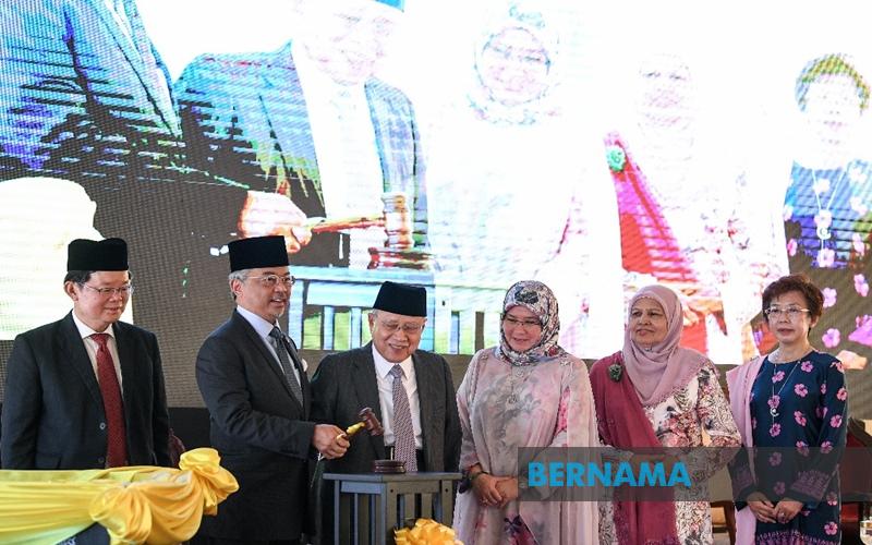 Agong rasmi Kompleks Kehakiman Syariah Pulau Pinang