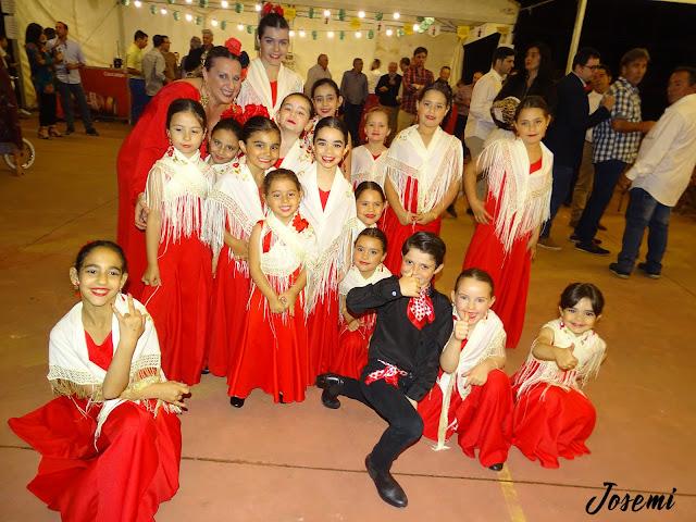 Gala flamenca en la Corte de Cortegana.