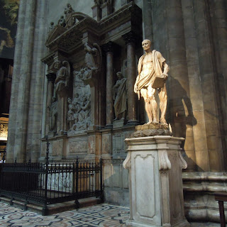 Statues in the duomo