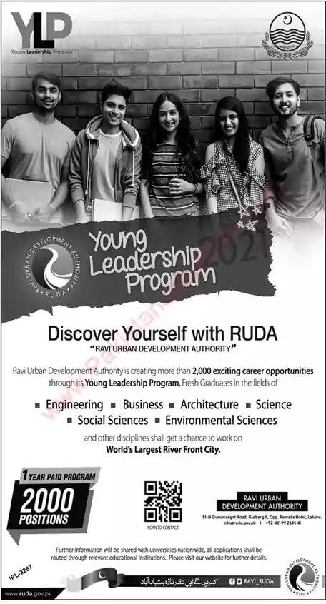 Young Leadership Program (YLP) Jobs 2021 in Pakistan