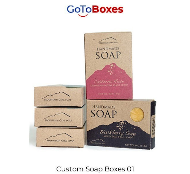 Custom Soap Boxes Packaging