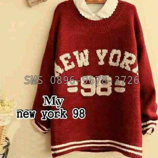 jual sweater wanita new york